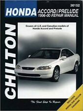 1996-2000 Honda Accord Prelude Chilton Repair Service WorkShop Manual Book 1188