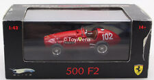 Hot Wheels Elite Ferrari 500 F2 A. Ascari Belgium GP 1952  Collector Model 1:43