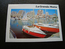 FRANCE - carte postale 1987 la grande-motte (le port) (cy61) french