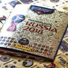 Russia 2018 World Cup Panini Complete Sticker Collection Hard Cover Albun
