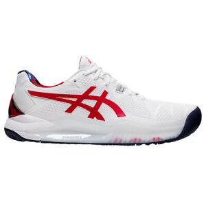Asics GEL-Resolution 8 L.E. White Mens Tennis Shoes
