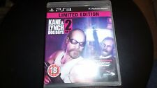PS3 GAME KANE & LYNCH 2 DOG DAYS . tested and working.