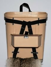 18-inch Fiberglass Trappers Pack Basket with Compartment