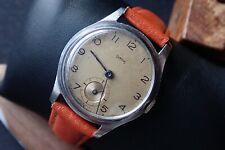 Vintage pre deluxe Smiths watch 15j England  serviced 1947 6RG DENNISON CASE