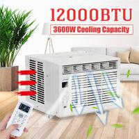12000BTU Klimaanlage 3600W Klimagerät Luftkühler Ventilator Timer Entfeuchtung