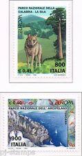 1999 Italië 2620-2621 Europa CEPT Nationale parken