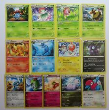 XY ANCIENT ORIGINS - Complete 36 Common/Uncommon Pokemon Character Cards Set