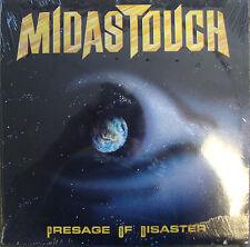 Midas Touch Presage Of Disaster 11 Track Vinyl LP Still Sealed