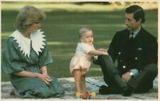 ❤ alte POSTKARTE_1983_Prinzessin_Princess_Lady_DIANA_Prince_CHARLES_William