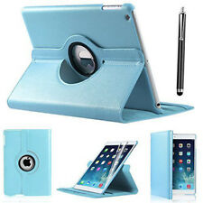 "iPad 360 Rotating Stand Case Cover for 2017 iPad 5th Generation 9.7""- Model Sky Blue"