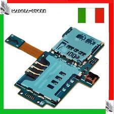 i9000 GALAXY S Lettore Memory SCHEDA SIM+MICRO SD Card FLAT FLEX Cavo SAMSUNG