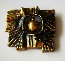 Pentti Sarpaneva Finland Brooch Bronze