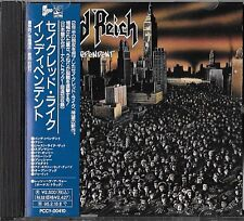 SACRED REICH Independent (+1 Bonus Tr) JAPAN CD OBI 1993 PCCY 004410 / Xentrix