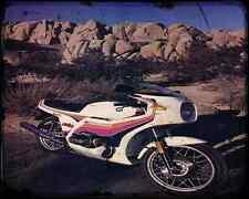 BMW KRAUSER MKM 1000 6 A4 Imprimé Photo moto Vintage Aged