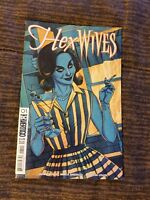 HEX WIVES #1 VARIANT EDITION NM+ LETTERHEAD COMICS