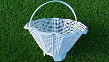 More details for universal adjustable skimmer basket 140  - 230 mm diameter with clip on handle
