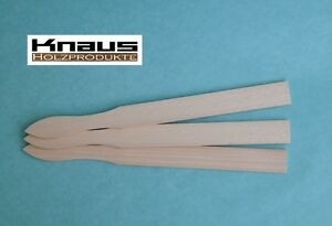 Rührstab Holz Farbrührer Holzrührer Rührholz LackMischstab mit Griff 300x26x4 mm