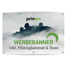 Werbeplane Werbebanner LKW Plane 22€/m²  >>90x360 cm<<