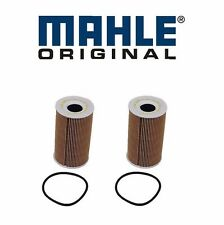 2-Pieces oem Mahle Oil Filter Porsche 911 Boxster Cayman Cayenne Carrera GT