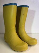 MINI BODEN Yellow Kids Rain Boots EUR 32