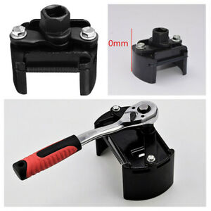 """Car Universal 60-80mm Oil Filter Wrench Cup 1/2"""" Housing Tool Remover Adjustable"""