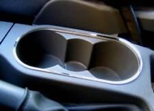 D Ford C Max Chrom Rahmen für Getränkehalter Konsole - Edelstahl poliert