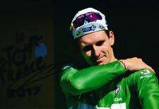 Arnaud Demare Autographed - Signed 8X12 inches 2017 TDF Green FDJ CYCLING Photo