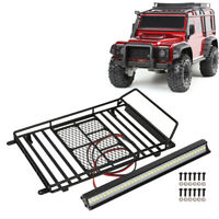 1/10 RC Car Roof Rack Luggage Carrier Tray for TRX-4/SCX10 Wrangler Crawler Kits