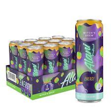 Alani Nu Pre-Workout ENERGY DRINK 12oz RTD, 12 Pak WITCH'S BREW - HALLOWEEN SALE