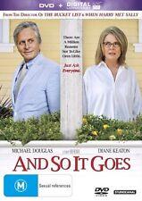 And So It Goes (DVD, 2014) Michael Douglas, Diane Keaton