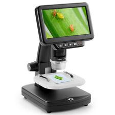 5 Lcd Digital Microscope 1500x Maginfication 1080p 8 Led Lights For Mac Tv Hdtv
