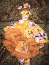Aral Ghostier Saffron Doll Outfit dress Fits Fashion Royalty NuFace Integrity