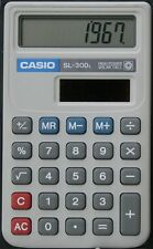 CASIO SUPER SOLAR CALCULATOR WALLET SL-300L