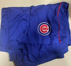 Chicago Cubs MLB Majestic Blue Mesh Shorts Big & Tall 6XL
