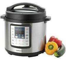 Cookworks Digital Pressure Cooker Pressurised Steam Locks in Nutrients