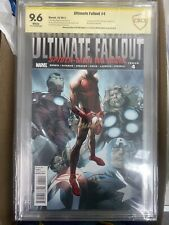 Ultimate Fallout #4 1st MILES MORALES new 2X SIGNED 1st print Cbcs NM+ 9.6