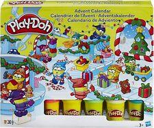 Hasbro Play-Doh Advent Calendar Kids Christmas Xmas 24 Door Play Dough
