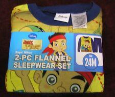 Boy's Pajamas Child's Size 24 months NEW Disney Jake & the Never Land Pirates
