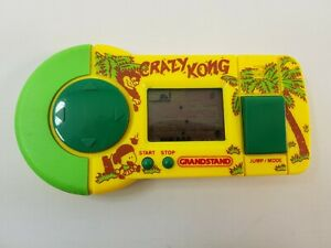 Crazy Kong Grandstand LCD Electronic Computer Game Tested Working Handheld