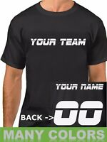 #2 CUSTOM Shirt JERSEY Personalized Name Number Team Softball Baseball Football