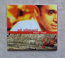 "CD AUDIO MUSIQUE / ALI SLIMANI ""ESPOIR - HOPE"" 12T CD ALBUM 2002 NEUF DEEP HOUSE"