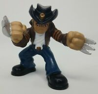 "Marvel Super Hero Squad 2.5"" Action Figure WOLVERINE Weapon X Escape X-Men Movie"