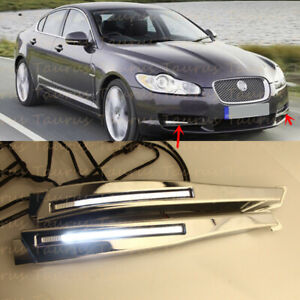 For Jaguar XF 2008-2010 Left&Right LED Daytime Running Light DRL Replacement