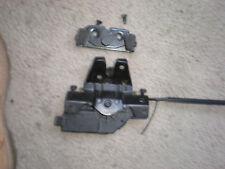 BMW OEM  E46 trunk lid lock latch actuator & micro switch & striker plate E90