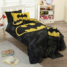 Batman Duvet Quilt Doona Cover Set | Three-Piece | DC Comics | Superhero | Queen
