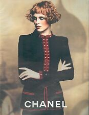 ▬► PUBLICITE ADVERTISING AD CHANEL Collection Automne/Hiver 5 pages 1997