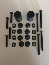 FORD FALCON XY XW XR XT SEAT BOLT AND NUT KIT WITH SPACES FAIRMONT GT ZD FAIRLAN
