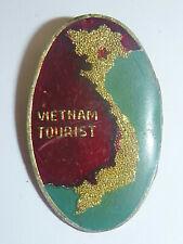 US SPECIAL FORCES - BADGE - Vietnam War Tourist - MAP BADGE - HANOI - 5407