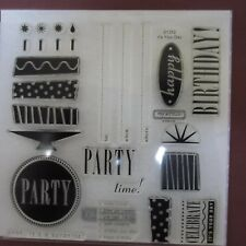 CTMH Close to My Heart Clear Stamps Its Your Day D1352 My Acrylix Birthday Party