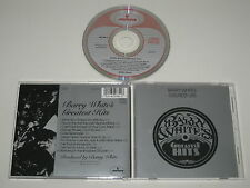 BARRY WHITE/BARRY DU BLANC GREATEST HITS(MERCURE 822 782-2) CD ALBUM